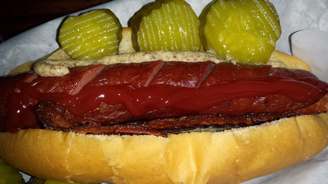Real good Hot Dogs.